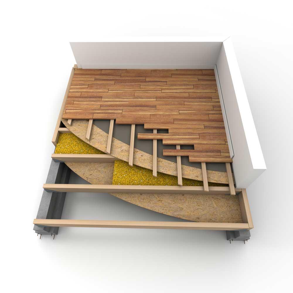 Subfloor The Make Or Break Element For Your Hardwood Flooring