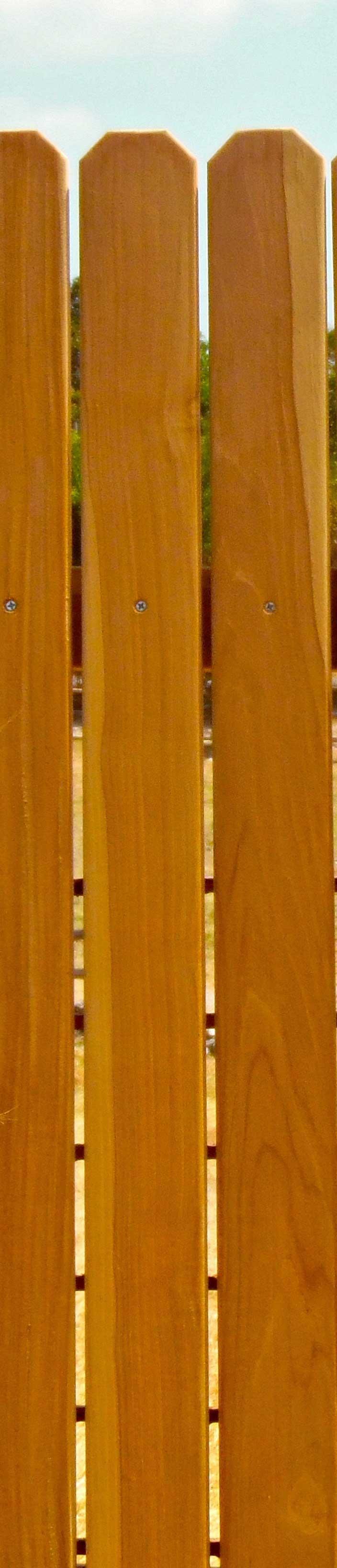 Anatomy Of Wood Fences